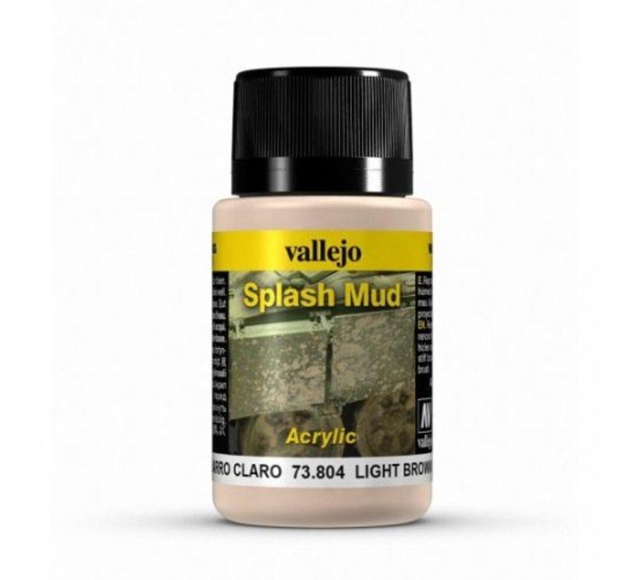 Light Brown Splash Mud Weathering Effects - 40ml - 73804