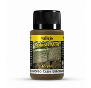 Vallejo European Splash Mud Weathering Effects - 40ml - 73801