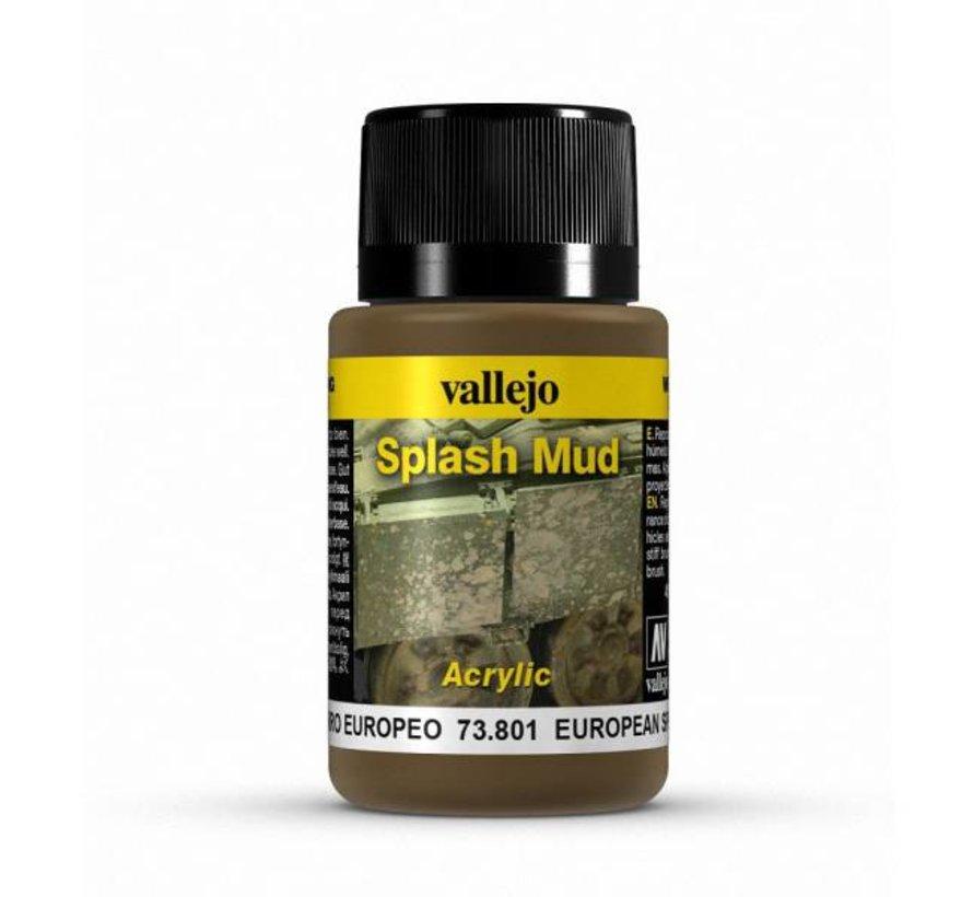 European Splash Mud Weathering Effects - 40ml - 73801