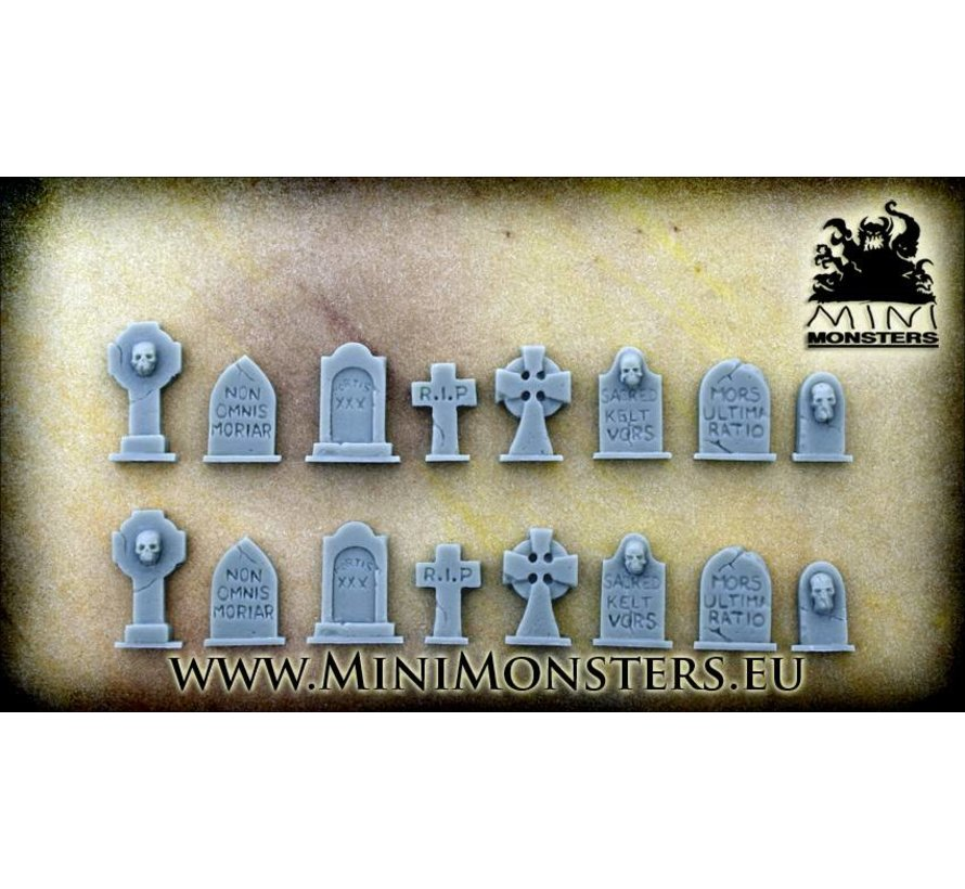 Grave Stones - 2 x 8st - MM-23