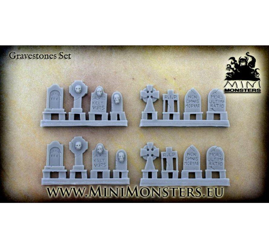 Grave Stones - 16x - MM-0025