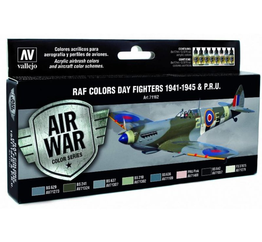 Model Air WWII RAF Day Fighters Colors - 8 kleuren - 17ml - 71162