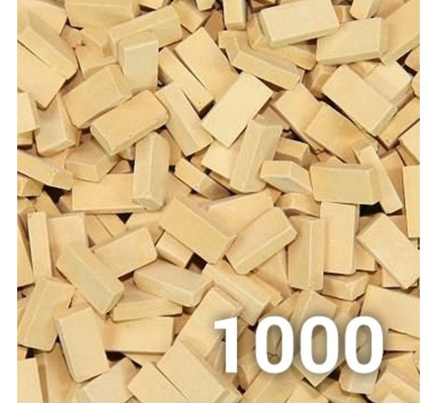 Beige licht baksteen 1:35 - 1000x - 23039
