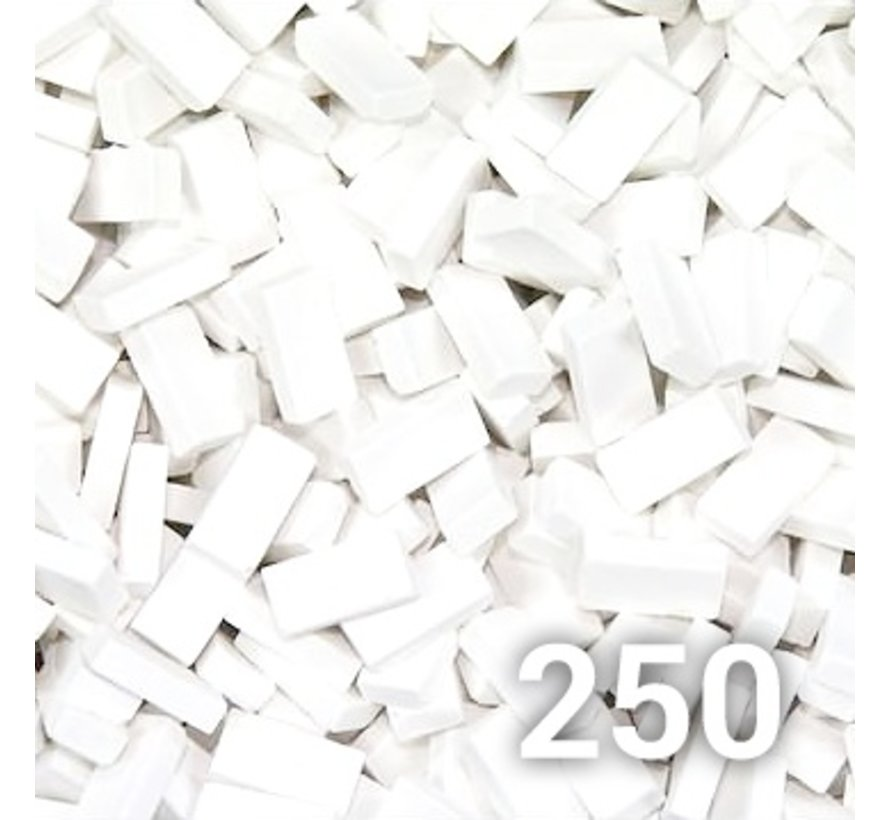 Wit baksteen 1:32 - 250x - 23002