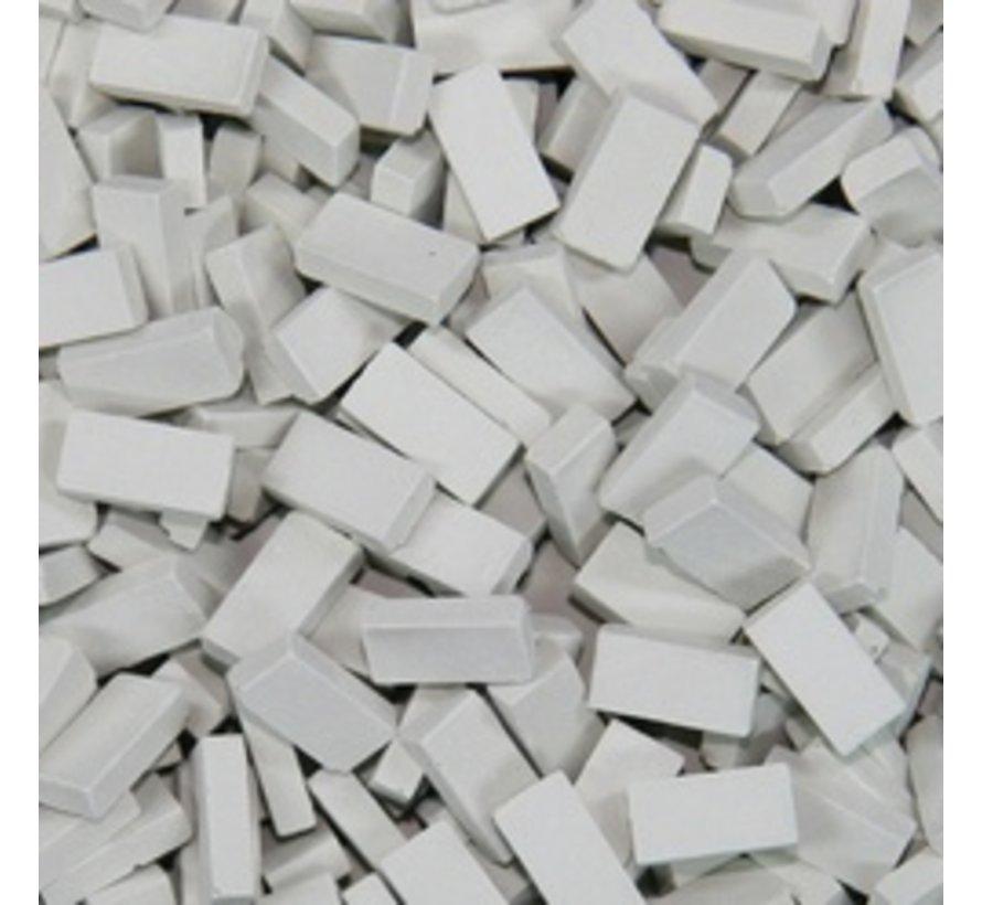 Grijs licht baksteen 1:35 - 500x - 23008