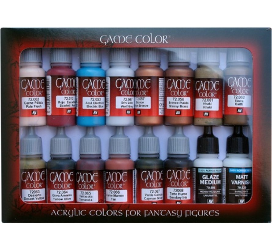 Game Color Set Specialist - 16 kleuren - 17ml - 72297