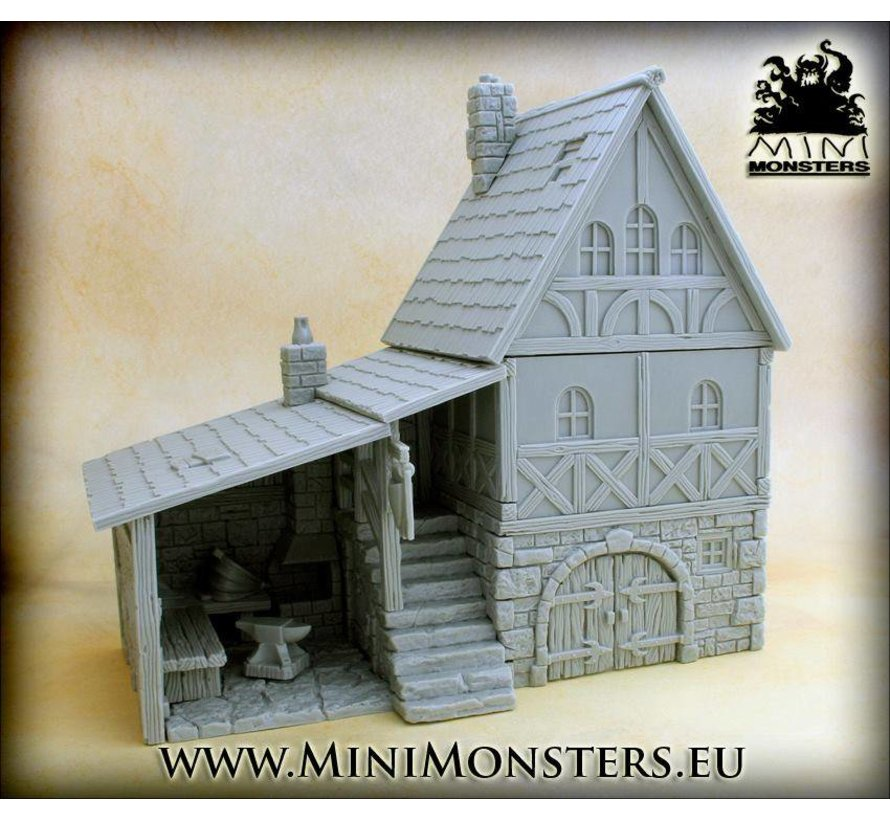Medieval Blacksmith House - MM-0028