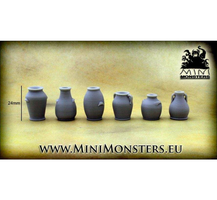 Vases - 6x - MM-0058
