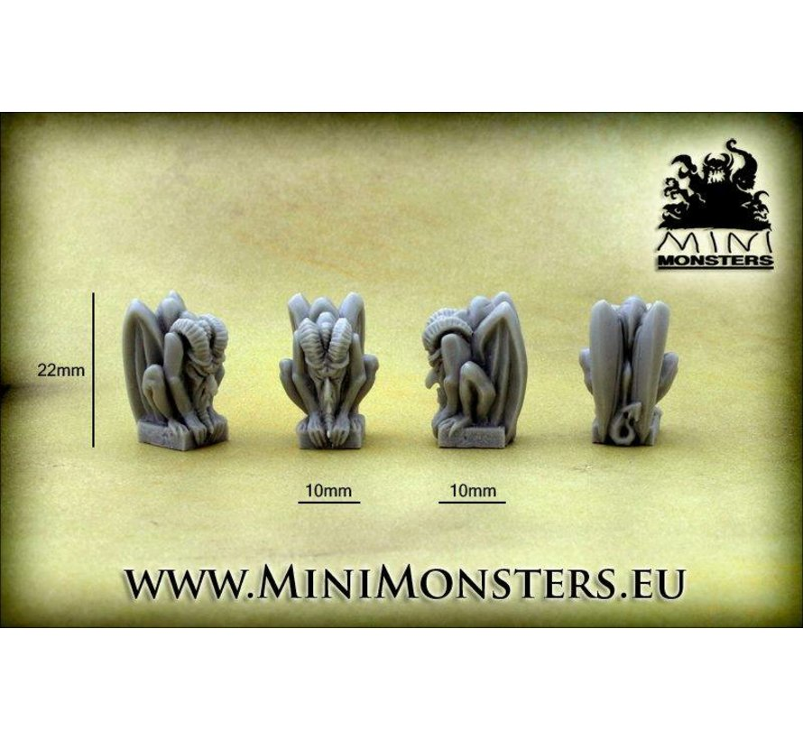 Small Gargoyles - 4x - MM-0051