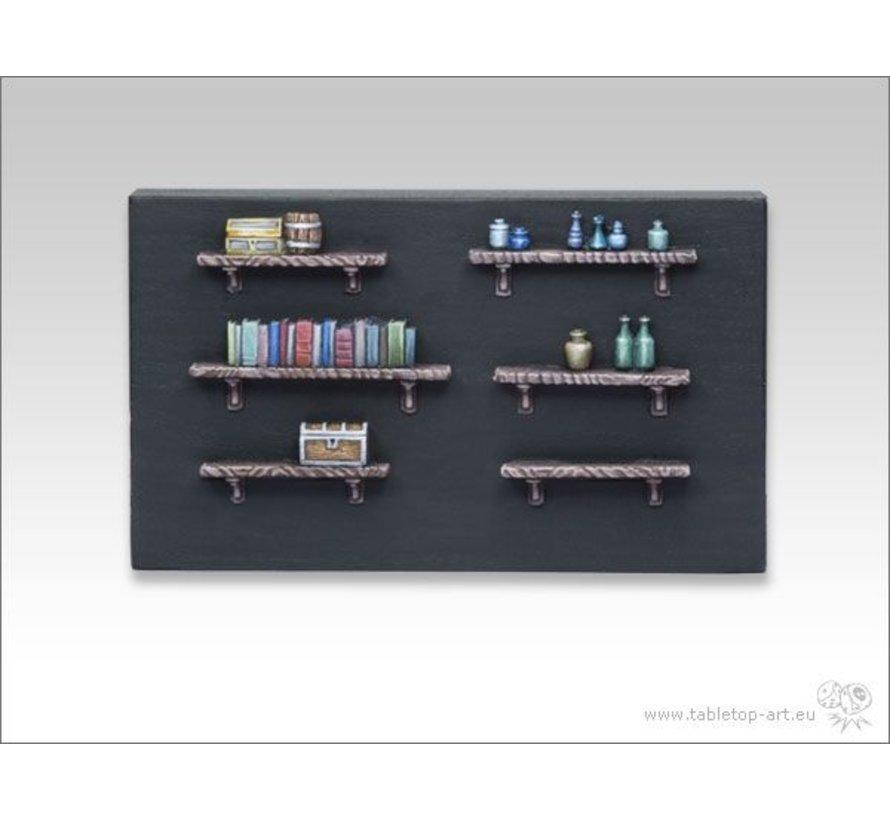 Boekenplank set 6x - TTA600006