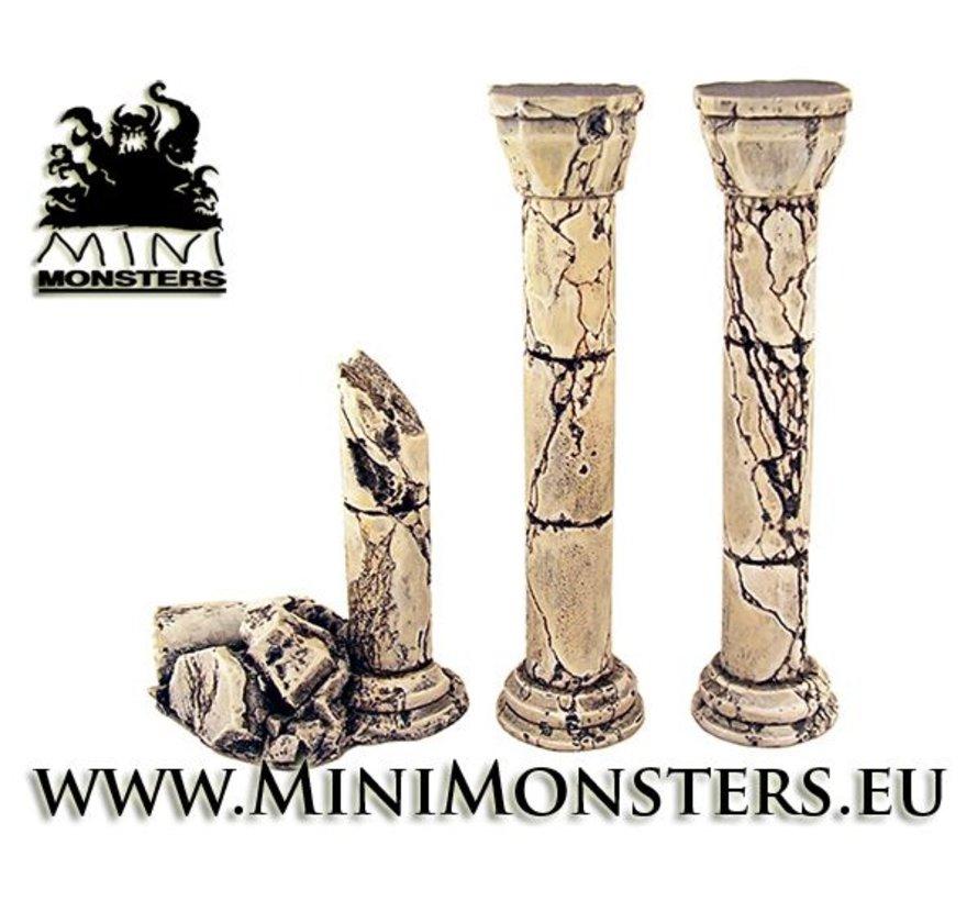 Ruined Columns - 3x - MM-0045