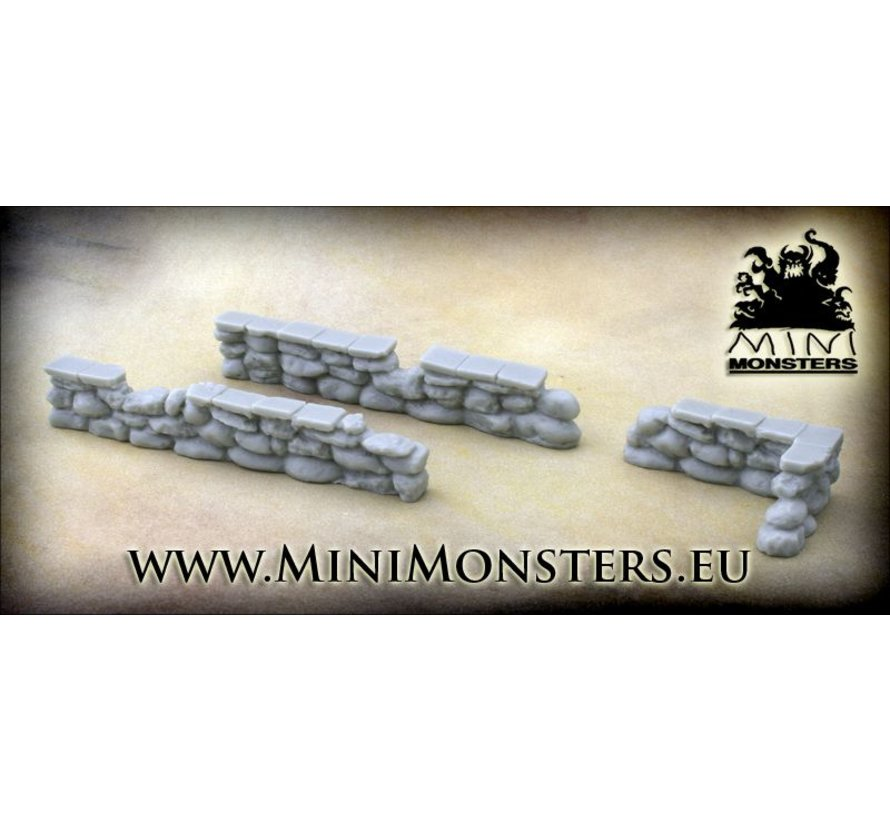 Stone Walls - 3x - MM-0052