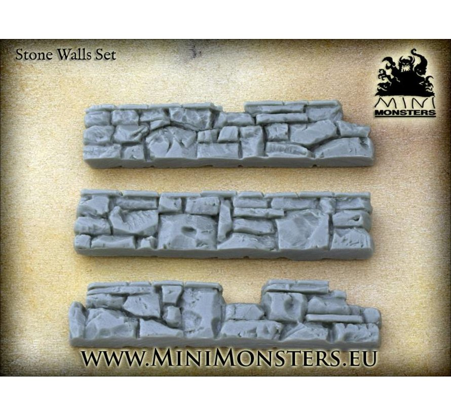 Stone Walls set 2 - 3st - MM-31