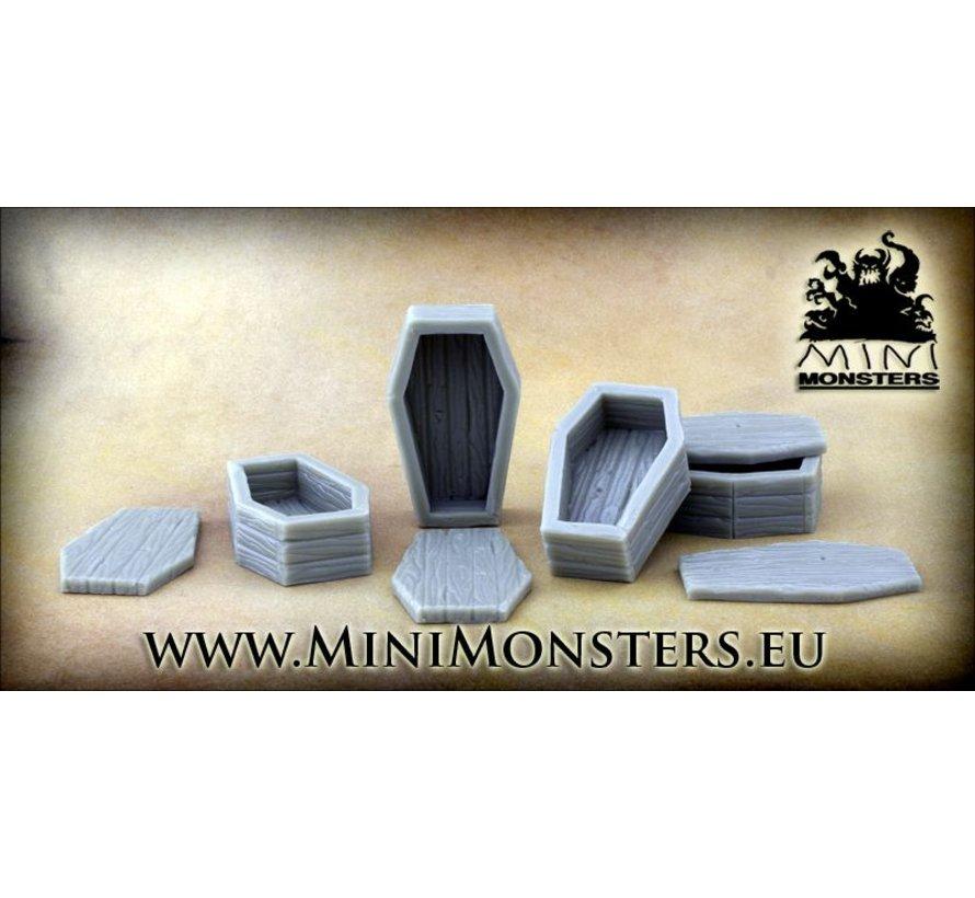 Coffins - 4x - MM-0009