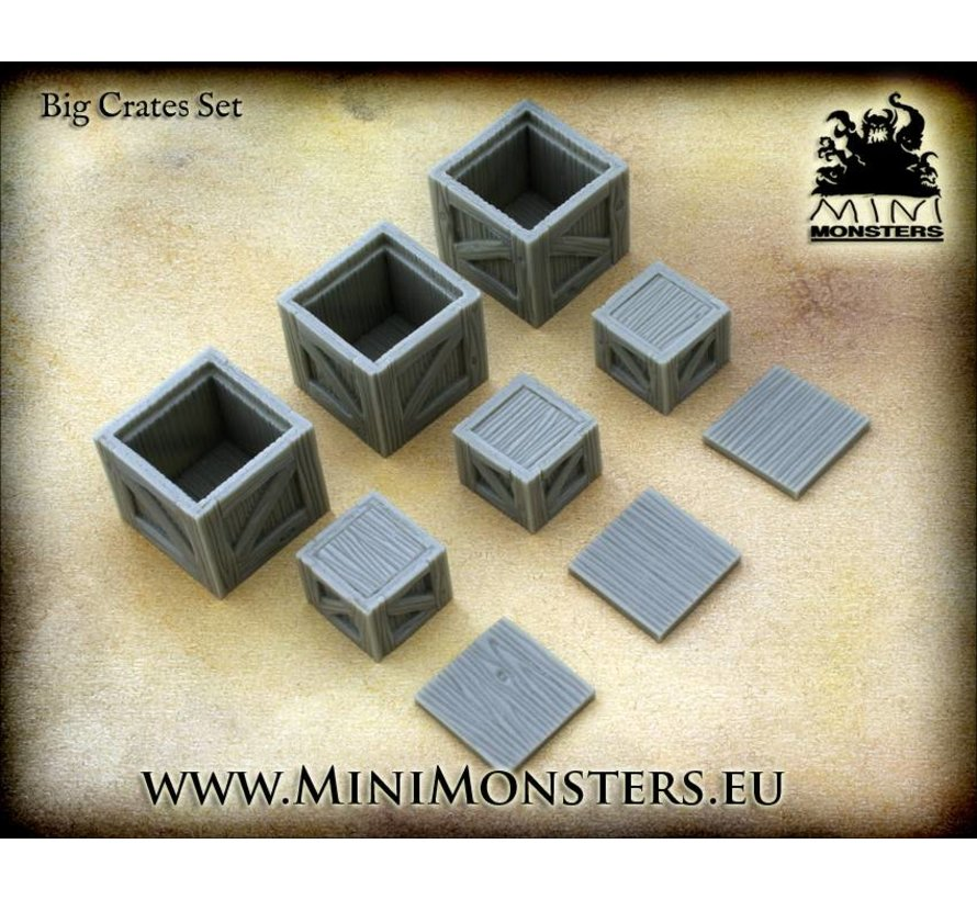 Big Crates - 6x - MM-0002