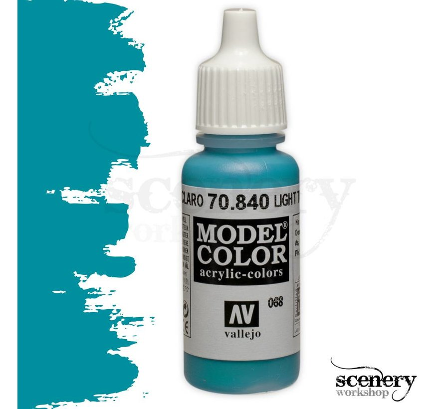 Model Color Light Turquoise -17ml -70840