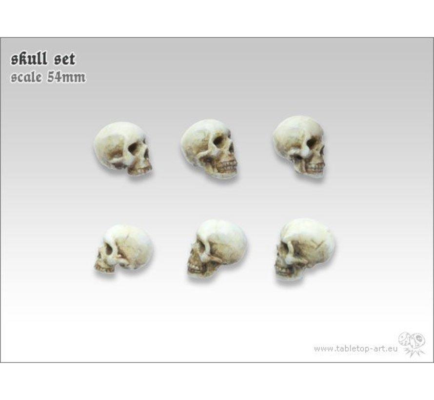 Skull Set 54mm - TTA600031