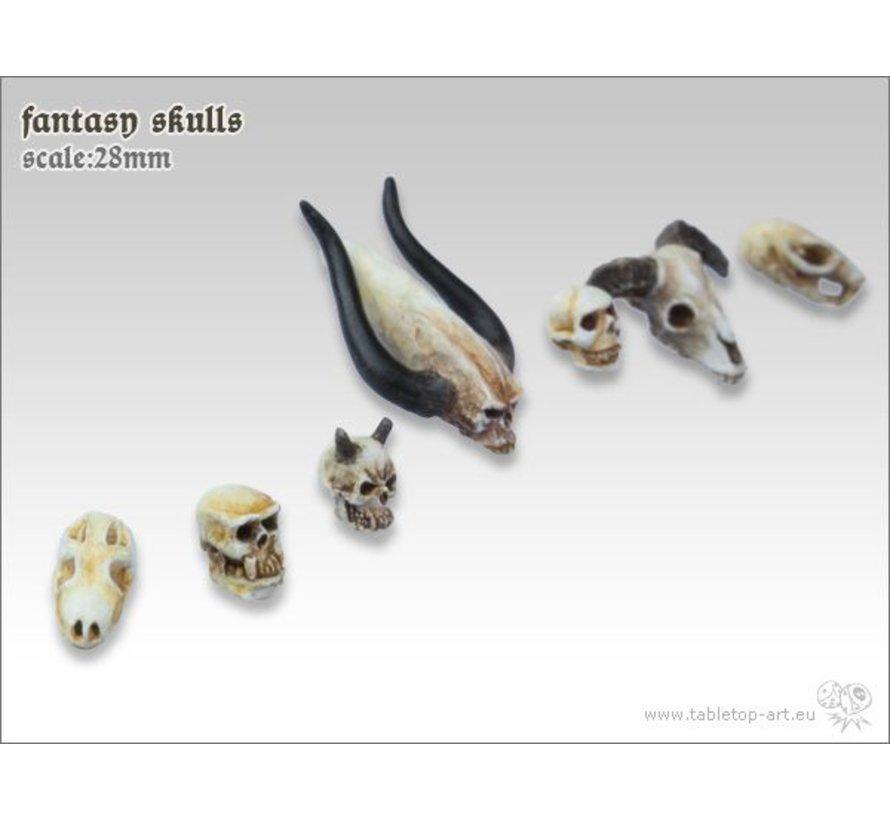 Fantasy Skulls - TTA600034