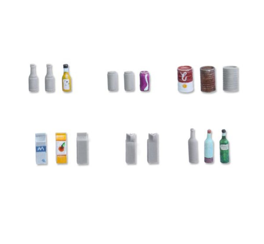 Beverage Bottles and Cans - TTA601060