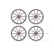 Tabletop-Art Cart Wheel Set - TTA601061