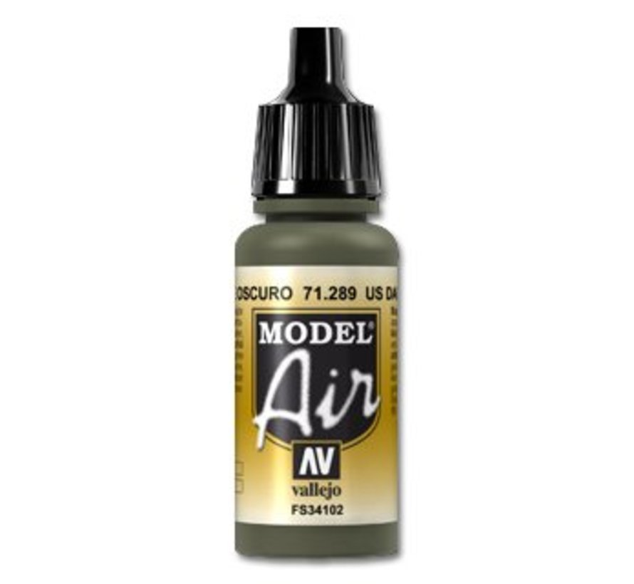 Model Air US Dark Green - 17ml - 71289