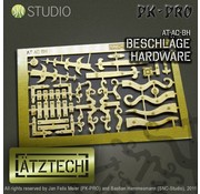 Ätztech Deurbeslag - Photo-Etch - AT-AC-BH