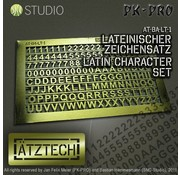 Ätztech Cijfers en Letters - Photo-Etch - AT-BA-LT-1