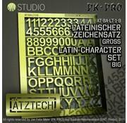 Ätztech Cijfers en Letters Groot - Photo-Etch - AT-BA-LT-1-B