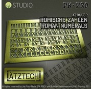 Ätztech Romeinse Cijfers - Photo-Etch - AT-BA-LT-2