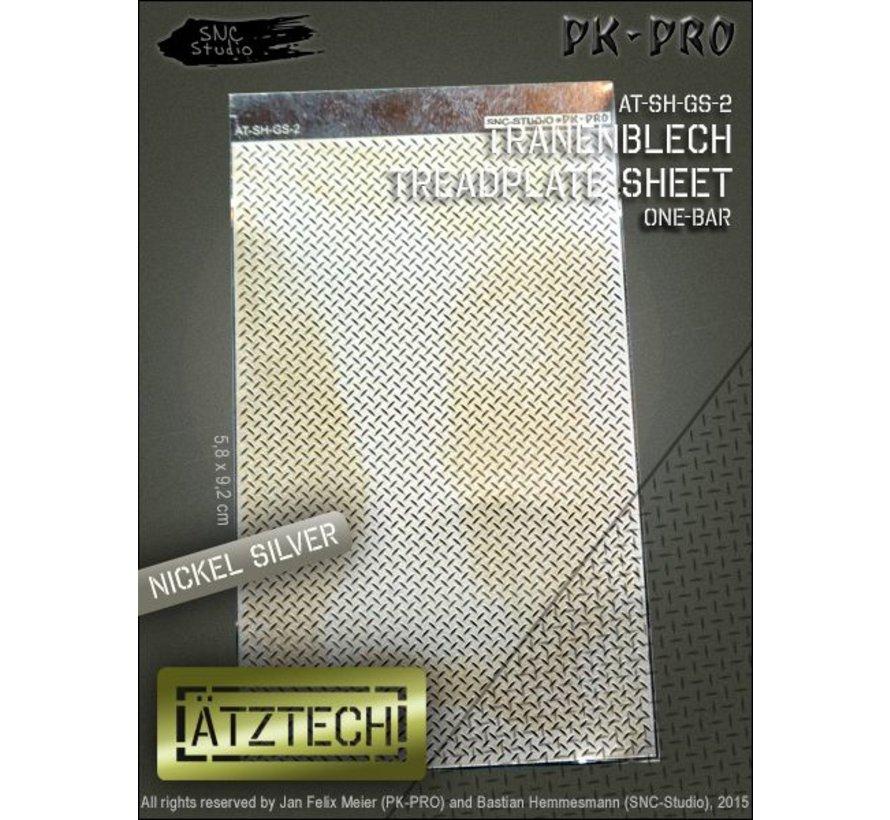 Ätztech Enkele Traanplaat - Photo-Etch - AT-SH-GS-2