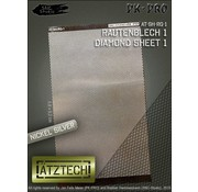 Ätztech Diamant Plaat - Photo-Etch - AT-SH-RG-1