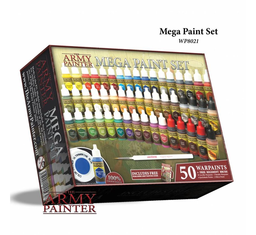 Warpaints Mega Paint Set 2017 - 50 kleuren - 17ml - WP8021