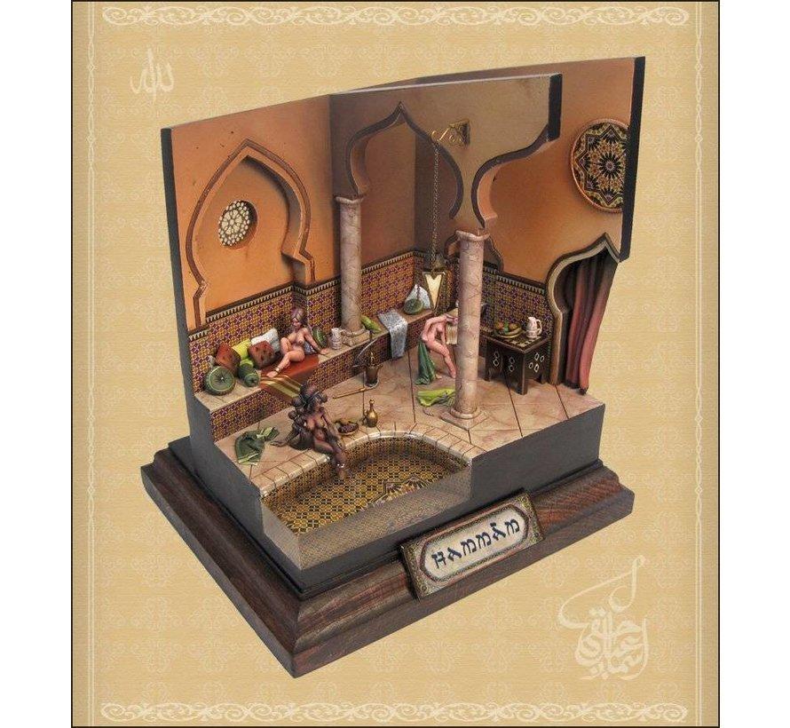 10x13cm diorama sokkel op voet - StSock10x13