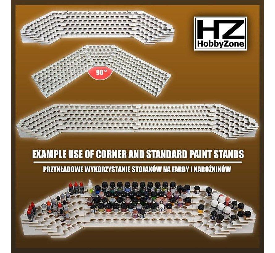Corner Paint Stand - 25mm potjes verfrek - S1Ns