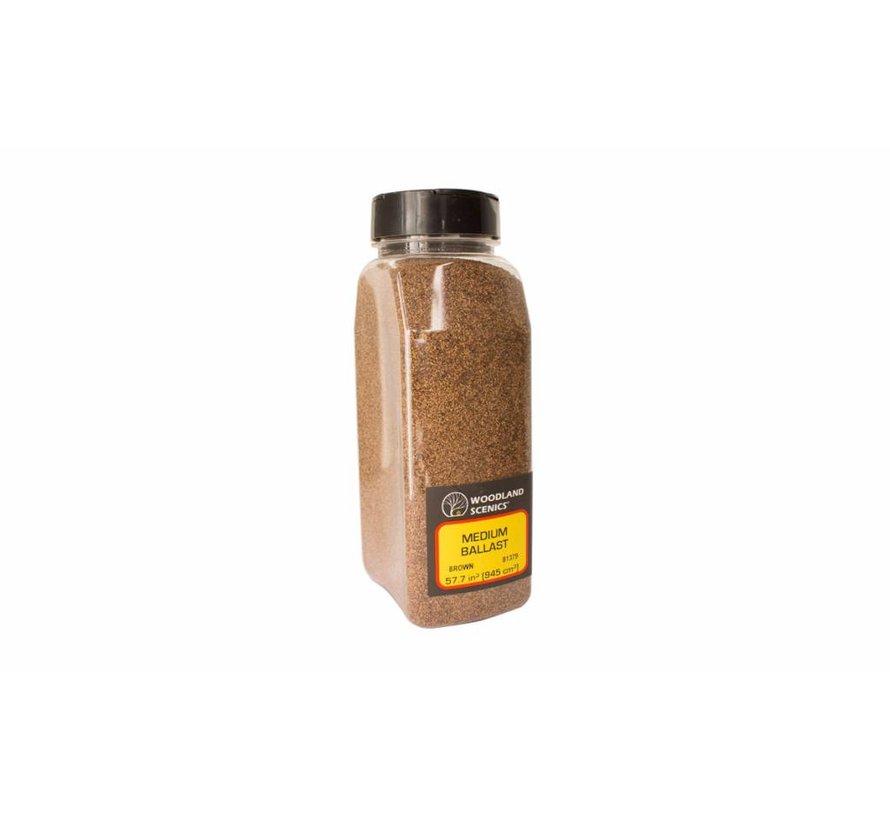 Brown Coarse Ballast Shaker - 945cm³ - B1386