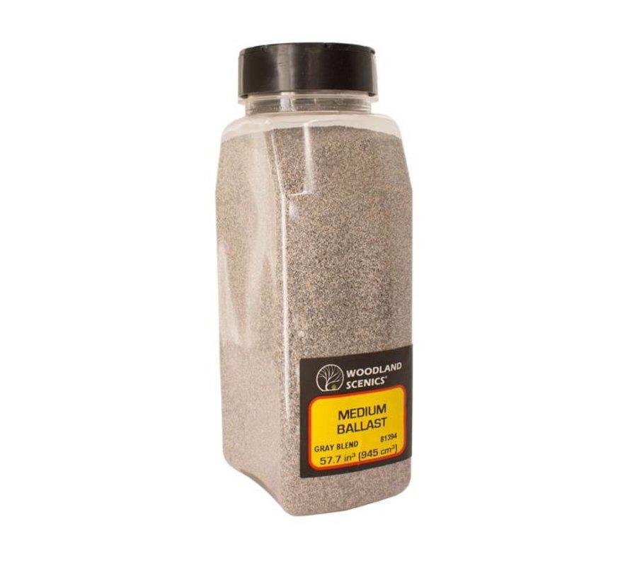 Gray Blend Fine Ballast Shaker - 945cm³ - B1393