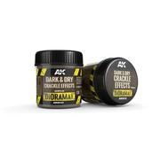 AK interactive Dark & Dry Crackle Effects - Diorama Series - 100ml - AK8032