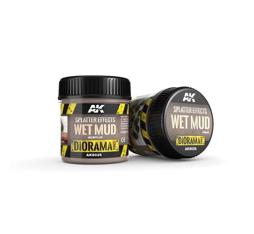 Splatter Effects Wet Mud - Diorama Series - 100ml - AK-8026