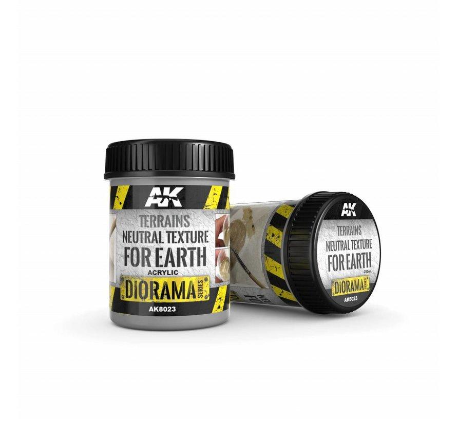 Terrains Neutral Texture - Diorama Series - 250ml - AK-8023