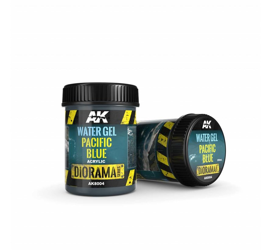 Water Gel Pacific Blue - Diorama Series - 250ml - AK-8004