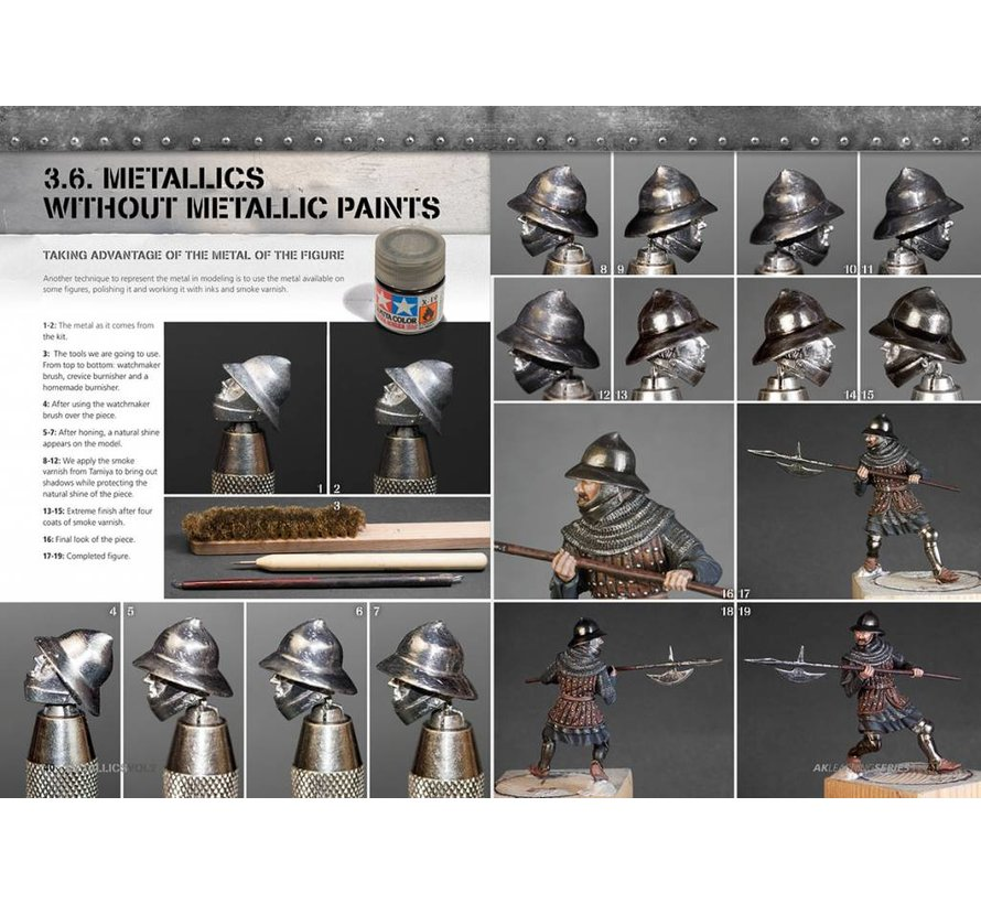 Metallics Vol 2 - AK Learning Series nr 5 - 86pag - AK-508