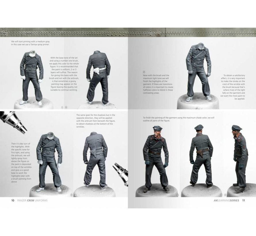 Panzer Crew Uniforms - AK Learning Series nr 2 - 2nd Edition - 86pag - AK-272