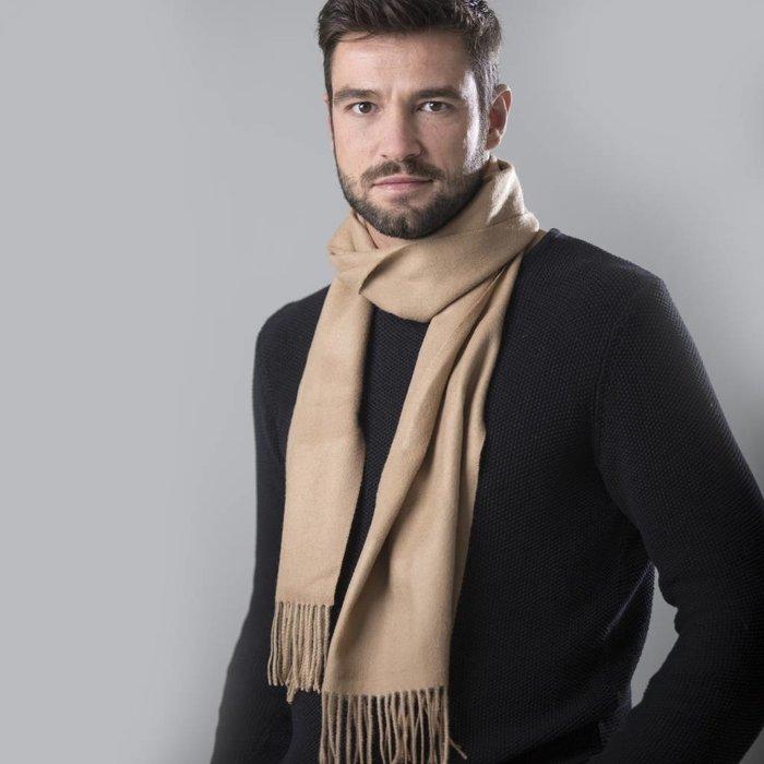 'Royale' - Premium Sjaal - Kameel
