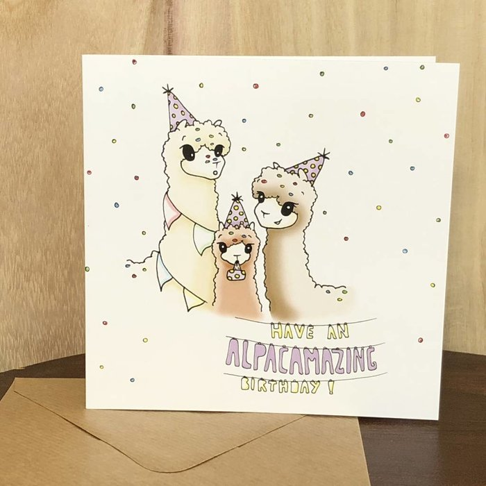1. Verjaardag Alpaca's