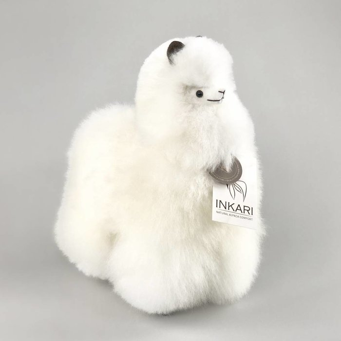 ❤ Alpaca ❤ Stuffed Animal ❤ Ivory White