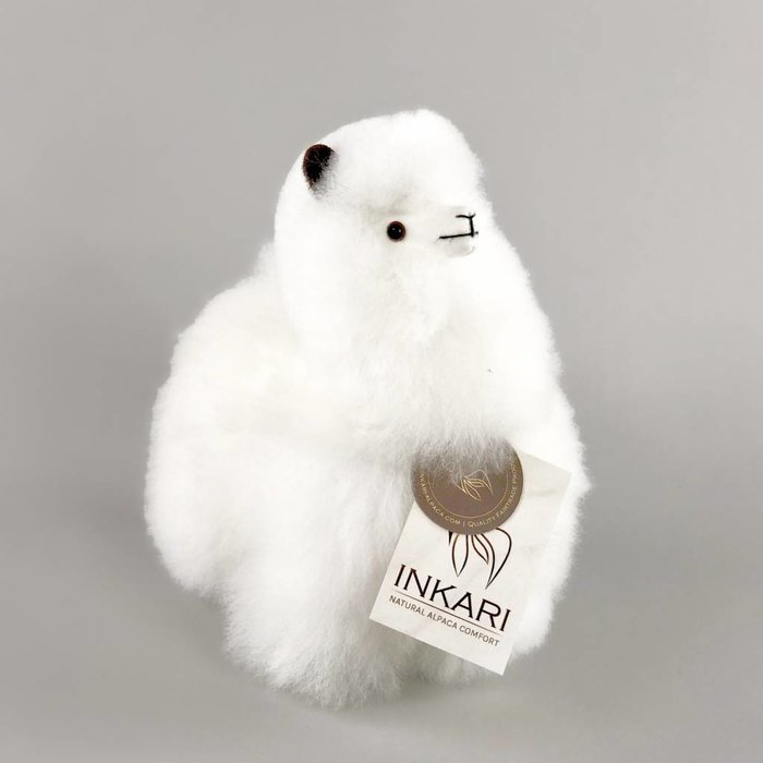Small Alpaca ❤ Stuffed Animal ❤ Ivory White