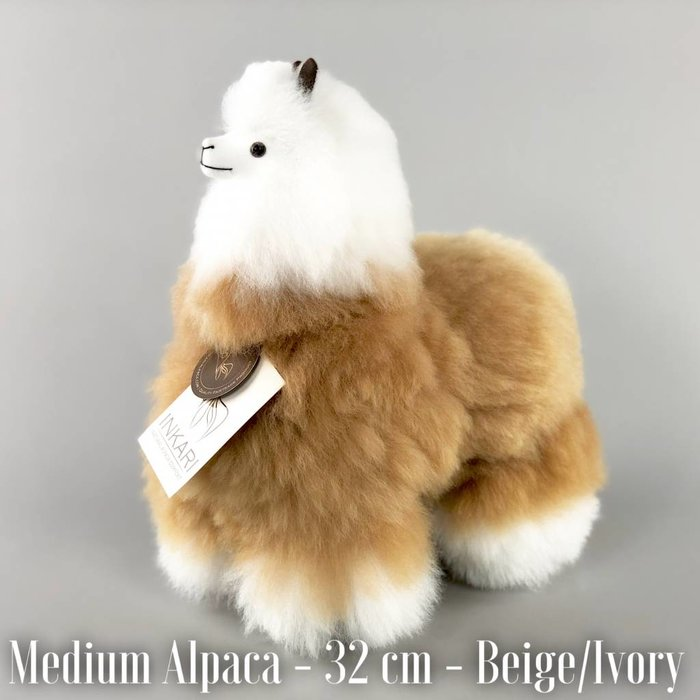 ❤ Alpaca ❤ Stuffed Animal ❤ Beige/Ivory