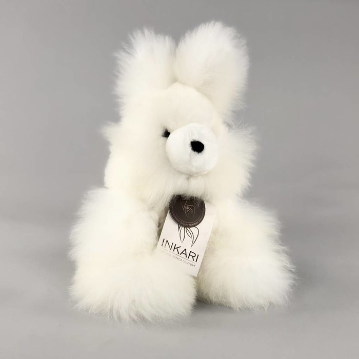 'Benny the Bunny' -Fluffy Toy - Ivory
