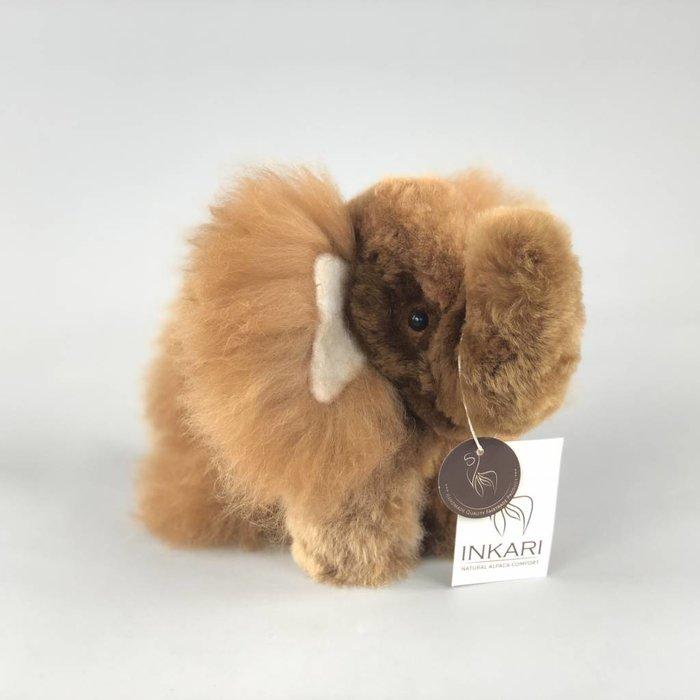 'Eddie the Elephant' - Fluffy Toy - Brown
