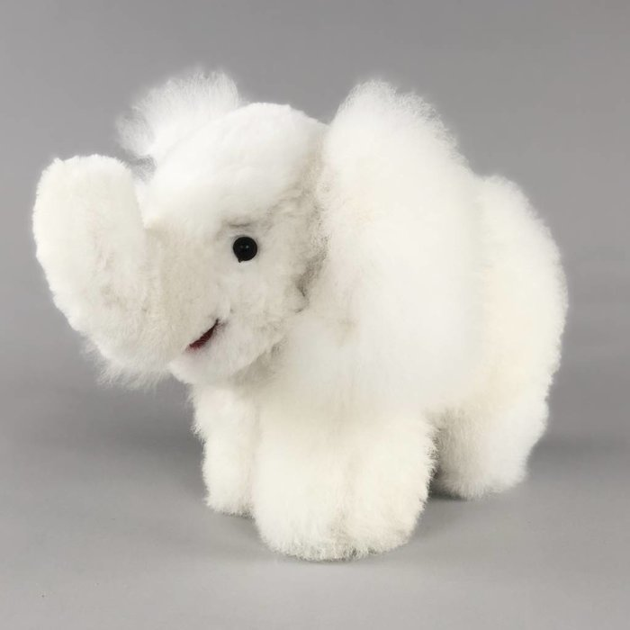 'Eddie the Elephant' - Fluffy Toy - Ivory